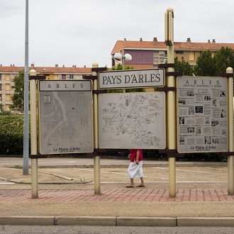 You Are Here - Pays d'Arles